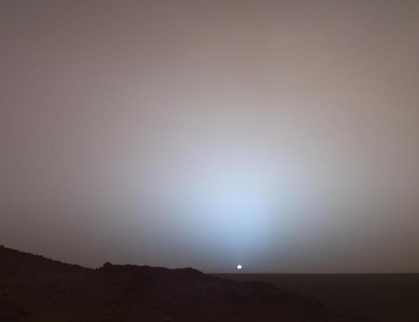 Sunset_on_Mars_Mars_Exploration_Rover